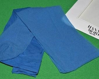 HANAE MORI Tights Pantyhose Vintage Japan Blue 80s