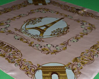 Scarf Paris 100% silk collection creat cities Paris. Anne Mcalpin