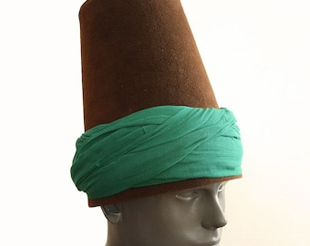 Whirling Dervish turban Hat, sufi hat ''Sikke''  59~60 cm