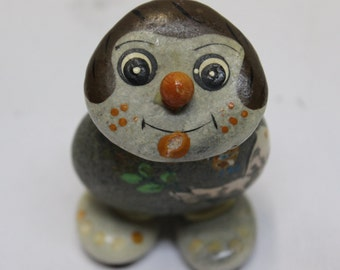 Vintage Pet Rock Sculpture