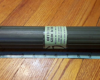 Tube GEOCACHE, geocaching container, FrEe ShIPpIng