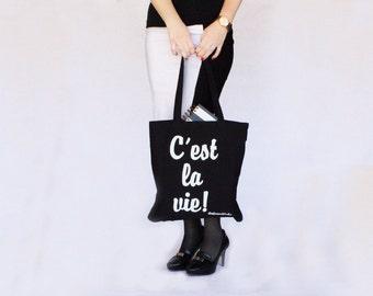 C'est la vie tote