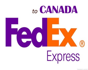 Shipping via FedEx Express to CANADA, See inside for complete details,  CANADIAN Buyers only