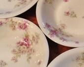 Haviland (Theodore) Limoges France - Set of Four Soup or Cereal Bowls