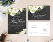 Wedding invitation with r...