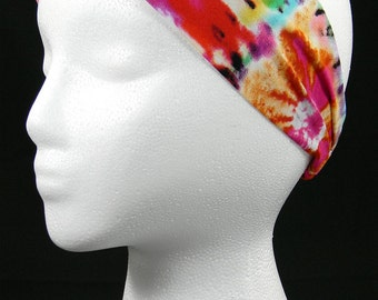 Tie Dye headwrap/headband (Handmade in the United States)