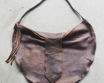 Large Hobo Purse with Tassle
