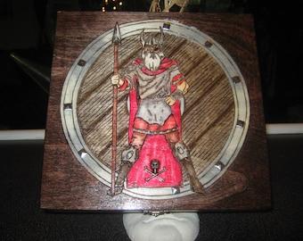 Viking Odin Cigar Box