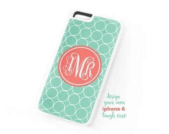 iPhone 6 Tough 2 Part Case • Monogrammed - Design your own