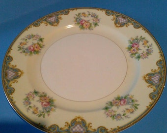"Japan Meito Beauty Dinnerware 1940s-50s Salad plate 7 3/4"" dia."