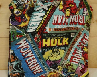 One Sandwich Bag, Reusable Lunch Bags, Waste-Free Lunch, Machine Washable, Avengers, Sandwich Sacks, item #SS82