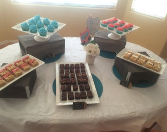 Baby Shower Dessert Table - LOCAL ONLY