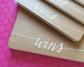 FREE SHIP Personalized Custom Moleskine Pocket Notebook Perfect for Favors and Gifts