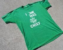 Straight Up Hilarious Vintage 80's Fireman T-Shirt