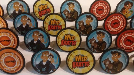 Wild Kratts Cupcake Rings
