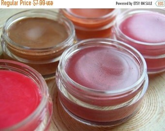 60% OFF - Mineral Lip Gloss - All Natural - Your Choice of Color and Scent