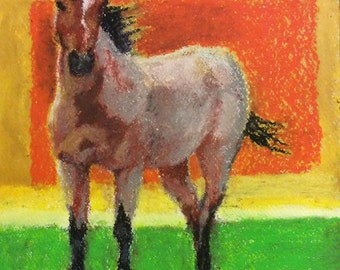 Horses / The Red Roan
