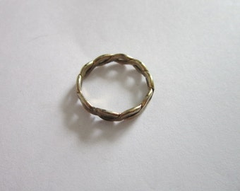 Antique 14 K Gold Filled Wedding Band Ring