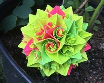 Colorful Classic: Origami Pieces