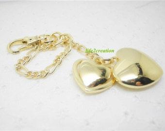 1pc heart purse charm,Bag Accessory, Handbag Charm, Backpack Charm xd-001