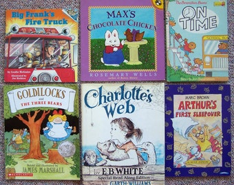 1990s Children's Book Collection - Lot of 12 - Stan Berenstain, Joe Mathieu, Rosemary Wells, James Marshall, Marc Brown, E.B. White