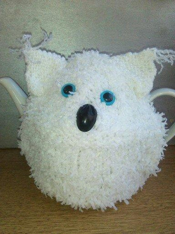 Snowy Owl Knitting Pattern : SNOWY OWL Knitting Pattern Tea Cosy Kniting by TeaCosyWorld