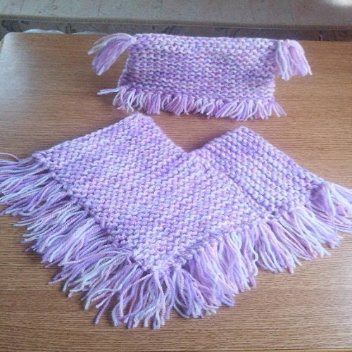 Easy Knitting Pattern For Baby Poncho : Poncho knitting pattern baby easy