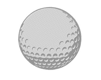 Golf Ball Embroidery Machine Design