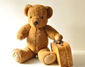 Large Genuine Merrythought Teddy Bear - Made in England