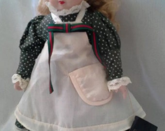 """Gorgeous Collectible Vintage Ceramic Doll by House of Lloyd 14"""" Tall"""