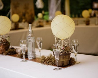 Hot air BALLOON NET ( small size) - Made to order