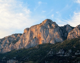 Pyrenees Mountain, French Countryside, Large Print Wall Art