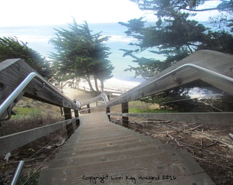 Stairs to The Beach Fine Art Photography