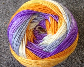 Self Striping Sock Yarn - Space Ghost