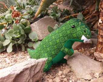 Tiny T-rex Toy - Custom Handmade Item