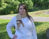 Dog Scarf, Dog Stole, Dog Wrap, Puppy Scarf, Crochet Scarf, Adult Animal Scarf, Child Animal Scarf, Neckwarmer Crochet Scarf,