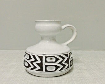 Pretty Ü ceramic jug vase 60s