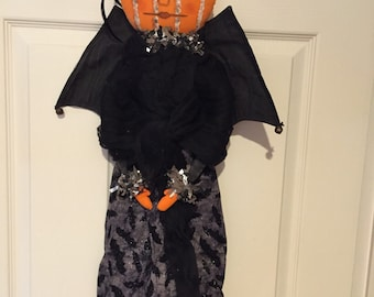 Hanging Halloween Bat Doll