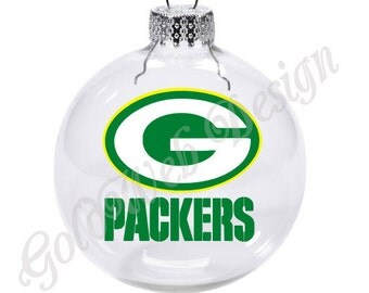 Atlanta Falcons Inspired Floating Glass Ball Christmas Ornament