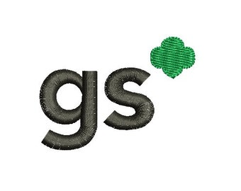 girl scouts embroidery design