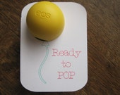 EOS Ready to POP lip balm holder-Can be customized!-Set of 10 cards