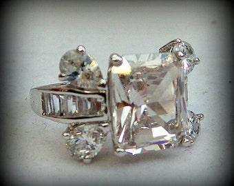 Vintage Ring Cubic Zirconia
