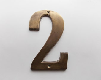 Vintage Brass Number Two
