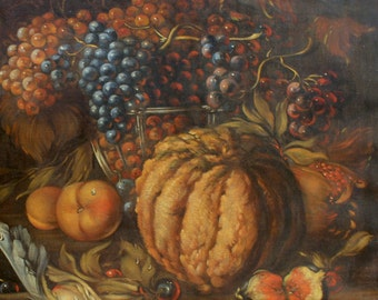 Sir Jean Louis van Kuyck Original Antique Flemish Dutch Belgian Old Master Style 19th Century European Still Life Oil Painting