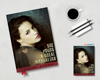 Custom Print ready Book Cover design.