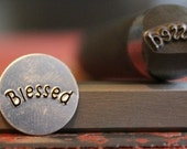 Blessed Word Metal Design Stamp- Made In The USA- Metal Stamp- Available On Two Different Tool Sizes- Advantage Stamp Series- SGAD-50