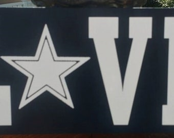 Dallas Cowboys, Wood Sign, Home Decor, Football Sign, Sports Sign, Cowboys Football
