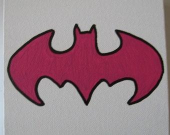 """DC Batgirl Canvas Art Picture 6""""x6"""""""