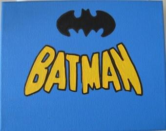 """DC Batman Canvas Art Picture 10""""x8"""""""