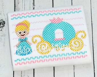 Faux Smocked Princess Embroidery